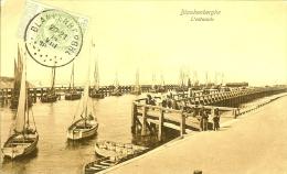 Ed V.g. 32 - Blankenberghe : L´estacade - Timbre Recto 1912 - Blankenberge