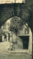 CORNILLON - GARD  (30) - PEU COURANTE  CPA BIEN ANIMEE  DE 1913 . - France