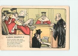 A. Vignolo : L'Affaire HUMBERT, N°9. Dos Simple. Voir Scans - Sátiras