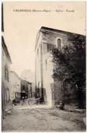 Valensole, église, Façade - France