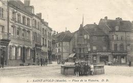 Moselle : St Avold, Place De La Victoire - Saint-Avold