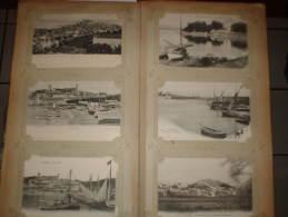 Album COMPLET Cartes Postales Anciennes : France, Italie, Suisse, Russie Soit Un Total D´environ 450 Cartes Postales - 100 - 499 Postcards