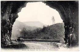 Saint Jean Du Gard - Sortie Du Tunnel Sur La Route De L'Estréchure - Saint-Jean-du-Gard