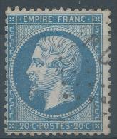 Lot N°23603   N°22, Oblit  Losange Des Ambulants PD - 1862 Napoléon III
