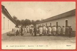 CAMP De SATHONAY Militaria Infanterie Au Rapport (LL) Ain (01) - Autres Communes
