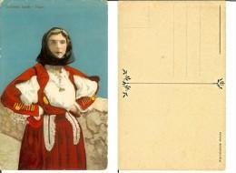 Nuoro: Costumi Sardi. Cartolina Fp Inizio '900 - Nuoro