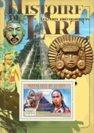 GUINEA 2011 - Pre-Columbian Art S/S - YT BF1301, Mi Bl.2025 - American Indians