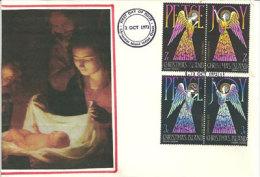 ILE CHRISTMAS (ile Noël) La Nativité, émission De 1972, Une Belle Enveloppe, Oblit. Premier Jour - Cristianesimo