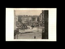 44 - NANTES - Photo Issue D´un Journal Et Collée Sur Bristol - Bombardements - Septembre 1943 - Place Royale - Guerre, Militaire