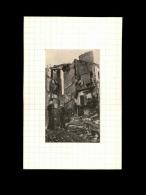 44 - NANTES - Photo Issue D´un Journal Et Collée Sur Bristol - Bombardements - Septembre 1943 - Rue Boileau - Guerre, Militaire