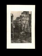 44 - NANTES - Photo Issue D´un Journal Et Collée Sur Bristol - Bombardements - Septembre 1943 - Rue Racine - Guerre, Militaire