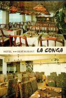 CPM  SETE   Hotel Restaurant     LA CONGA    En Multivues - Sete (Cette)