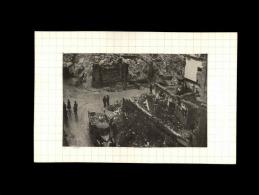 44 - NANTES - Photo Issue D´un Journal Et Collée Sur Bristol - Bombardements - Septembre 1943 - Rue Boileau - - Guerre, Militaire