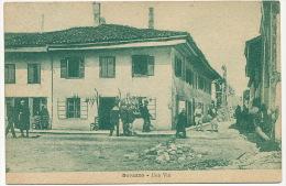Durazzo Una Via P. Used 1920 Italian Stamp - Albanie