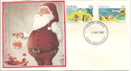 AUSTRALIE. La Nativité, émission De 1983, Une Belle Enveloppe, Oblit. Premier Jour - Christmas