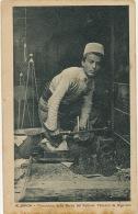 Albania Trinciatore Della Barba Del Sultano Tabacco Da Sigarette 1918 Enfant Coupeur De Tabac - Albanie