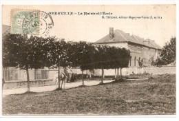95 - OMERVILLE - Mairie Et Ecole - Altri Comuni