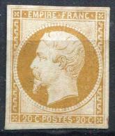 FRANCE - N° 13A, REPARÉ - ASPECT TB - 1853-1860 Napoleon III