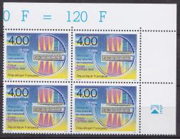N° 2791 Mémorial Des Guerres D´Indochine: Motif Symbolique; Bloc De 4 Timbres - Francia