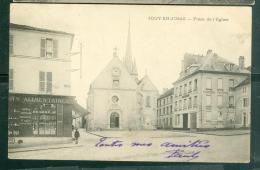 CPA - 78 - Jouy-en-Josas - Place De L'église -   DAH36 - Jouy En Josas