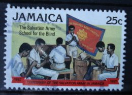 1987 Jamaica Salvation Army Used/gebruikt/oblitere - Jamaica (1962-...)