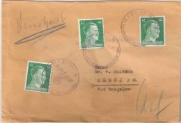 Dienstpost Waffen SS Totenkopfsturmbann Sachsenhausen 27.1.1943 ? Nach Klütz Gut Bregelow Dr Von Maltzahn - Service