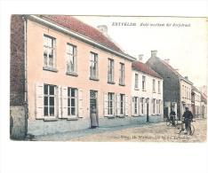 Ertvelde Zicht Westkant Der Dorpstraat In Kleur - Evergem