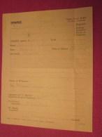 Rare MILITARIA Document Original Militaire Américain USA WAR 39-45 Charge Against -OFFENSE à Abusé De L´alcool - Documents