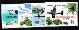 Samoa, 1970, SG 345 - 348, Complete Set Of 4, MNH - Samoa