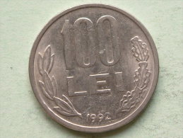 1992 - 100 LEI - KM 111 ( Uncleaned Coin / For Grade, Please See Photo ) !! - Roumanie
