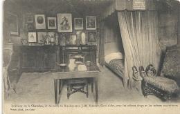 INTERIEUR DE LA CHAMBRE-DU SAINT CURE D ARS--ECRITE AU VERSO--UNE TRACE DE PLI-- - Ars-sur-Formans