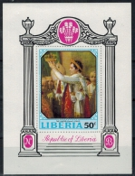 1970 Liberia, Krönung Napoleon. Block ** Zustand: I-II - Liberia