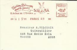 Lettre  EMA 1957 SIEDMA Tradition Britanique   Cerf Biche Dain Themesmammiferes Animaux Gibier    17/34 - Gibier