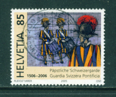 SWITZERLAND - 2005  Papal Guard  85c  Used As Scan - Switzerland