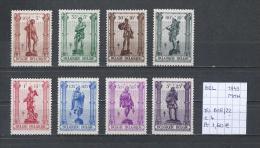België 1943 - Yv. 615/22 OCB 615/22 Postfris/neuf/MNH - Ungebraucht
