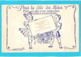 BUVARD :Pour La Fete Des Meres Les Plus Jolies Fleurs - Kids