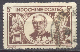 Indochine YT N°264 La Grandière Oblitéré ° - Indochine (1889-1945)
