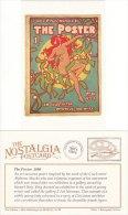 Postcard The Poster Alphonse Mucha Art Nouveau 1898 Nostalgia Mistletoe Repro - Fine Arts