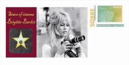 Spain 2013 - Stars Of The Cinema History - Brigitte Bardot Special Prepaid Cover