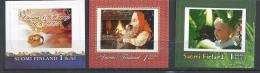 Finlande 2004 N°1644, 1669 Et 1670 Neufs,timbres Personnalisés - Finlandia