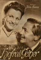 IFK 342 Der Hofrat Geiger 1947 Paul Hörbiger Waltraut Haas Hans Moser Mariandl Filmprogramm Programm Movie - Zeitschriften