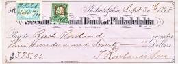 .S.  REVENUE  ON  CHECK  1898 - Revenues