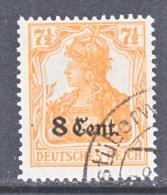 German Occupation France  N 17 (o) - Occupation 1914-18