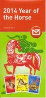 New Zealand 2014 Brochure About Lunar Year - Year Of The Horse - Nueva Zelanda