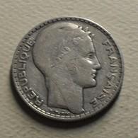 1929 - France - 10 FRANCS, Turin, Argent, Silver, KM 878, Gad 801 - France