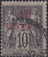 MOROCCO  FRANCE 1891 10c Nº 3Aa - Morocco (1956-...)