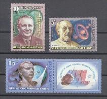 STAMP USSR RUSSIA Mint (**) 1986 Set Space Gagarin Tsiolkovsky Korolev - Nuovi