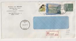 AANGETEKEND RECOMMANDE CINEY 31/12/93 - Storia Postale