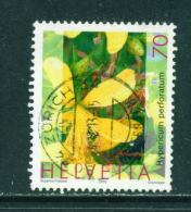 SWITZERLAND - 2003  Medicinal Plants  70c  Used As Scan - Used Stamps