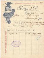 BERNE .- BURGI & Cie  Exportation De Fromages Suisses - Switzerland